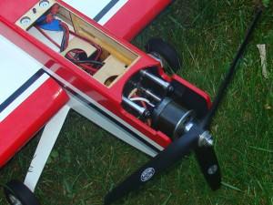 Twist 60 with Eflite Power 90 Closeup