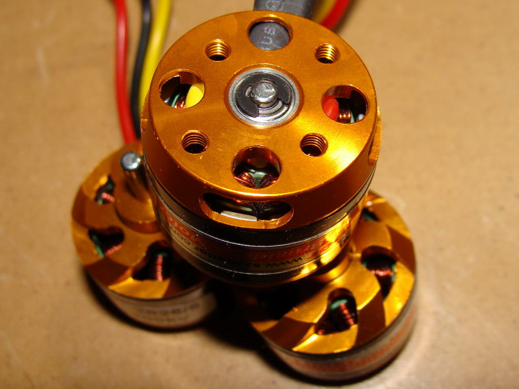 RC Timer BC-2826/6 Back View