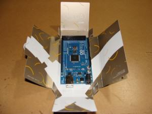 Arduino Mega 2560 Opened Box