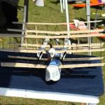 neat old style model airplane with many wings
