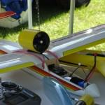 ducted fan power pod for glider