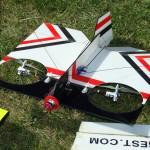 model VTOL aircraft
