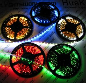Multi-Color LED Light Spools