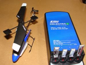 Blade mSR With Included Charger and 4 LiPo Batteries