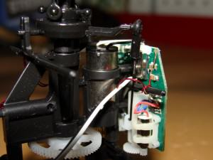 Eflite Blade mSR Power System and All-in-One Board and Servos