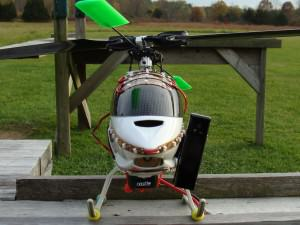 Ace Thunder Tiger Mini-Titan 450 with Spy Cam Attached