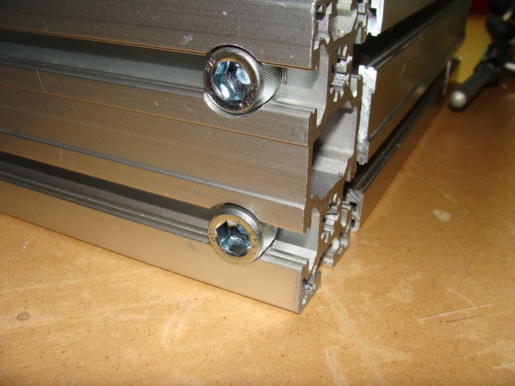 how to set up ln25 aluminium
