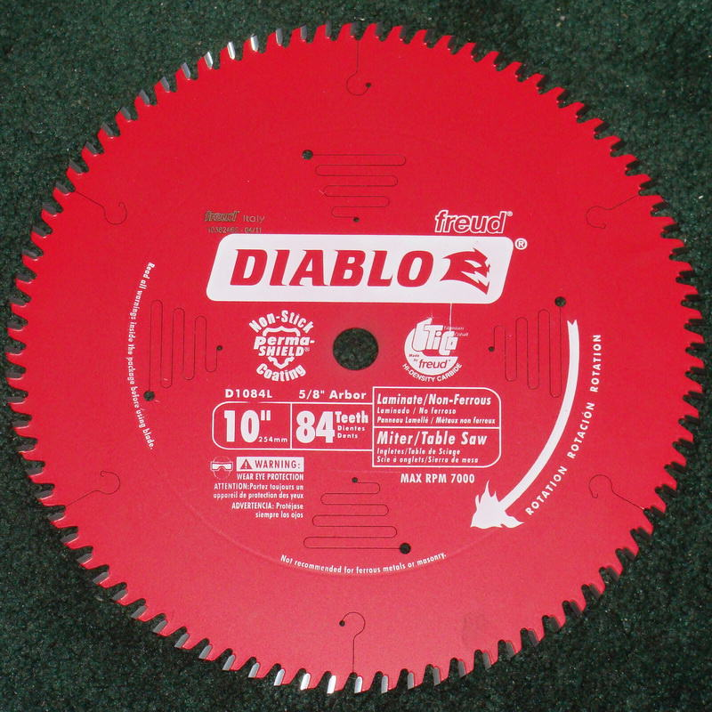 Diablo 10-inch 84 Tooth Carbide Aluminum Cutting Blade