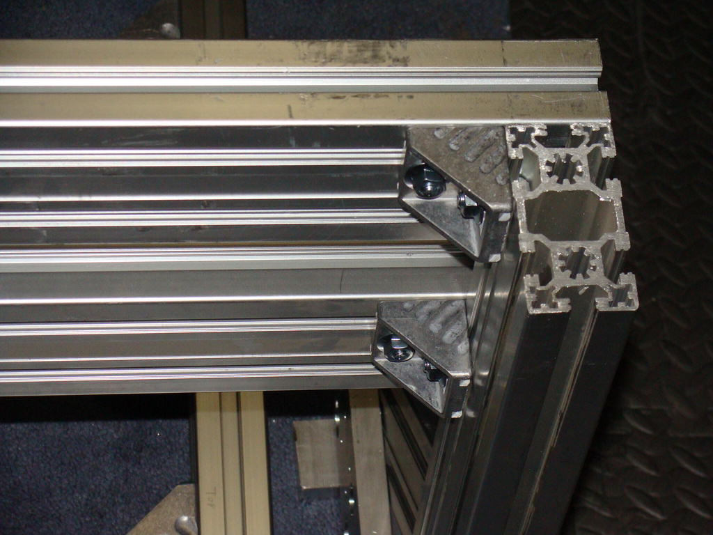 Diy aluminum extrusion do it your self diy diy cnc route aluminum extrusion y axis mounting example 1 jpg sciox Choice Image