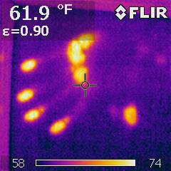 Thermal Handprint - Thermal Camera Image IRNV