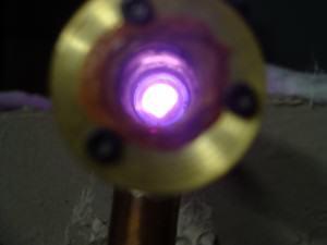 DIY Copper Chloride Laser Optic Mount