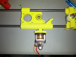 3D Printer OB1.4 X-Carriage Assembly with Budaschnozzle