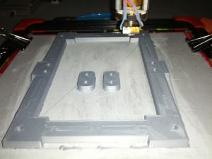 ABS Y-Carriage 3D Print for OB 1.4 DIY RepRap Style 3D  Printer