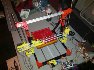 DIY 3D Printer OB 1.4 Completely Assembled OpenBeam w-PLA Parts