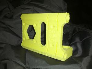 OB 1.4 DIY 3D Printer X-Motor Mount Yellow
