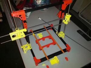 OpenBeam OB 1.4 DIY 3D Printer Assembly Progressing