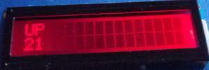 RGB LCD Red