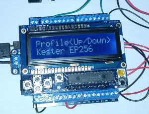 Toaster Oven Reflow Controller-display