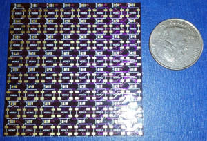 8x8-ws2812b-etched-screened-pcb