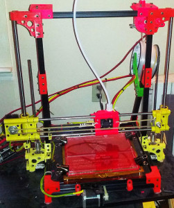 Open Beam 1.4 3D Printer with Bowden Extruder