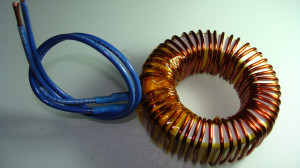 Inductor flying leads