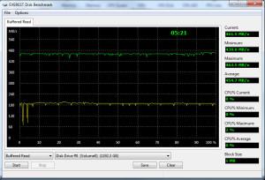 Transcend 1TB External vs SATA 2.0 RAID 1