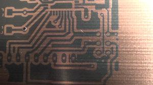 Developed Printed Circuit Board