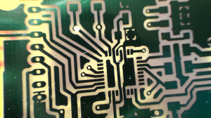 Etched Printed Circuit Board
