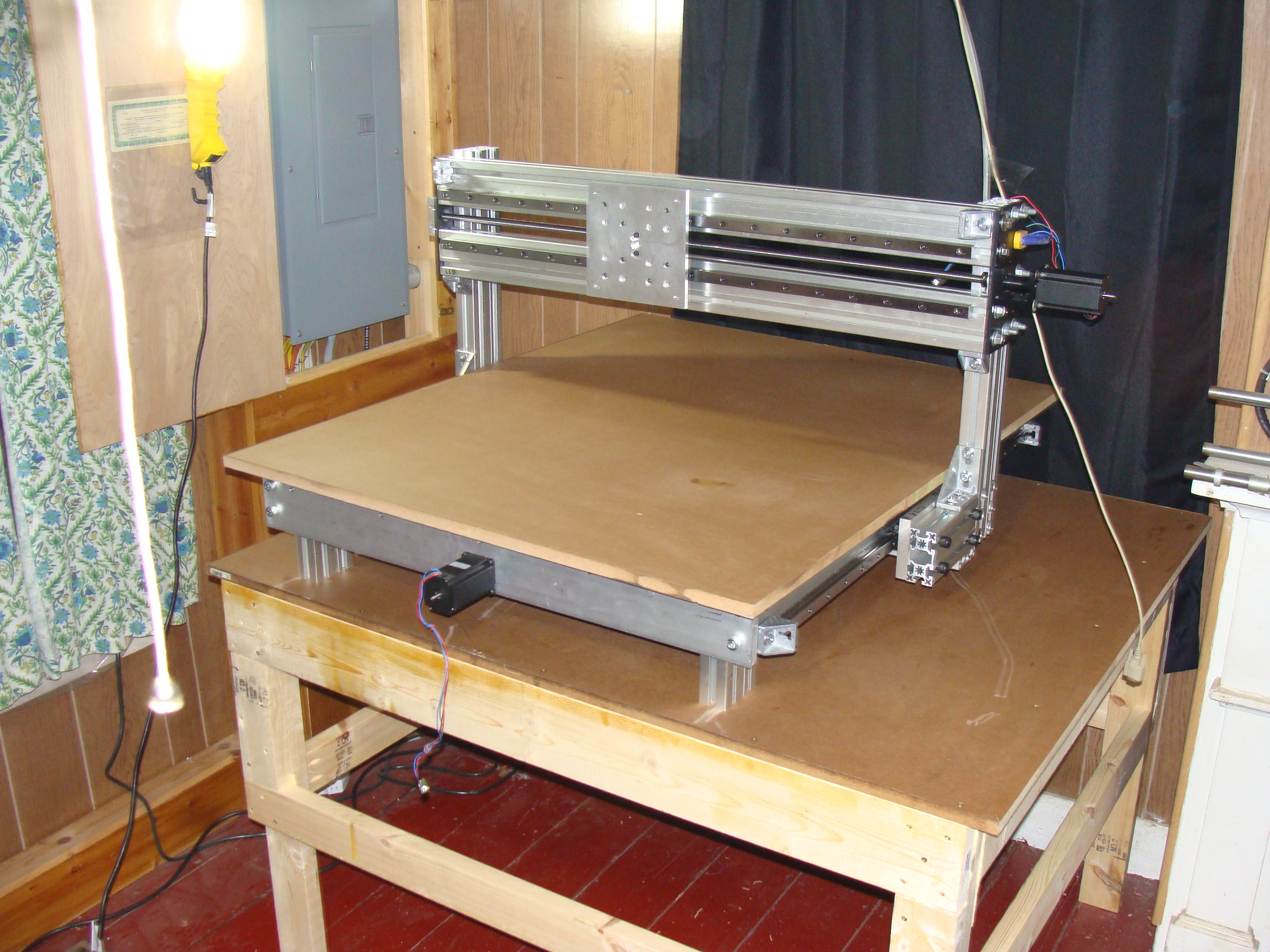 Superb Diy Cnc Router Frame On Table Download Free Architecture Designs Rallybritishbridgeorg